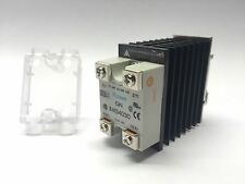 New Crouzet GN 84134030 75A Solid State Relay, 24-280VAC, w/ APC 4030 Heat Sink