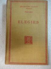 Escriptors Llatins,Elegies,Properci,F.Bernat Metge 1946