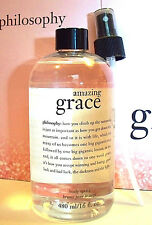 Philosophy AMAZING GRACE 16 OZ. ALL OVER BODY SPRITZ SEALED & PUMP - NEW STOCK