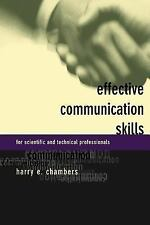 Effective Communication Skills for Scientific and Technical Professionals by...
