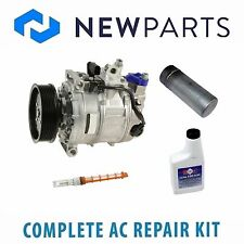 Volkswagen Phaeton 6.0L W12 NEW AC A/C Repair Kit with OEM Compressor & Clutch