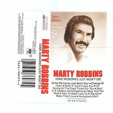 SEALED Some Memories Just Won't Die by Marty Robbins (Cassette, Columbia (USA))