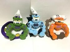 Lot of 3 Pokemon plush / Thundurus Tornadus Landorus / Japan /set