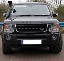 Black+Silver Disco 4 2014 facelift style front grille for Land Rover Discovery 3