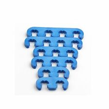 Universal 7mm 8mm Blue Plastic Spark Plug Wire Separators Dividers Looms
