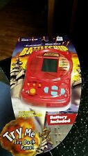 Electronic Hand Held Battleship Game New Red Hasbro Milton Bradley 2002 3 Games