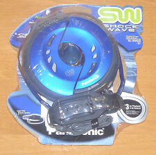 New sealed 2003 PANASONIC SL-SW940 ICE BLUE Shockwave Discman portable cd player