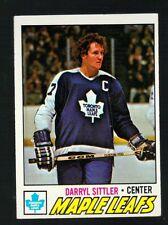 1976 - 1977 Topps Hockey Set DARRYL SITTLER Card