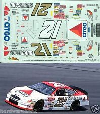 NASCAR DECAL #21 CITGO SUPERGARD 70's RETRO SCHEME 2000 FORD TAURUS E. SADLER