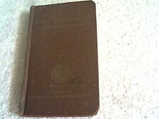 Small US Army Issued New Testament Bible March 6,1941 by the White House Vintage
