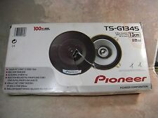 NEW Pioneer 4 Round 2-Way Car Speakers Pair TS-G1345R 100W