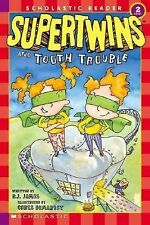Supertwins and Tooth Trouble (Scholastic Reader Level 2)