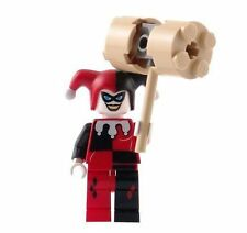 LEGO DC UNIVERSE HARLEY QUINN with HAMMER 7886 FIRST VERSION BATMAN MINIFIG new