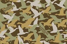 DUCK DYNASTY DUCK CAMO FABRIC - BROWN