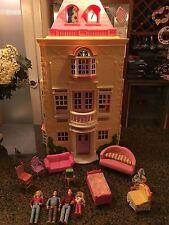 Fisher Price Loving Family Twin Time Grand Mansion Doll House & Furniture