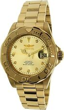 Invicta Men's Pro Diver 17054 Gold Stainless-Steel Automatic Watch