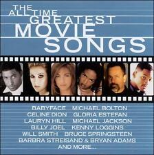 The All Time Greatest Movie Songs by Various Artists CD 17 Tracks