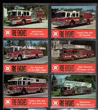 1993 Fire Engines Serie Two Base Set Singles (Pick any One from the list below)