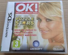 OK! Puzzle Stars Game For Ds Dsi Ds Lite 3Ds Nintendo NEW & SEALED 99p UK P&P