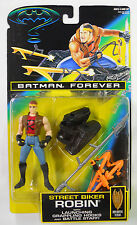 VINTAGE! STILL SEALED! 1995 Kenner Batman Forever Street Biker Robin
