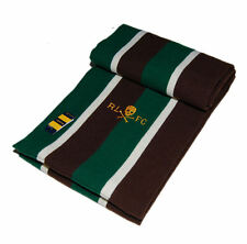 Polo Ralph Lauren Rugby Mens Wool Skull Stripe Scarf Brown Green White