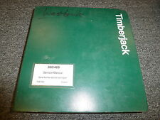 Timberjack 360 460 Skidder Cable Grapple Service Repair Shop Manual F281262