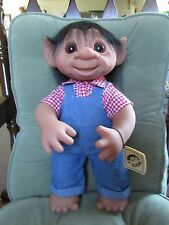"GIANT HENRY w/ TAG - 17"" Dam Troll Doll - NEW"