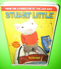 Stuart Little VHS Movie 2000 Michael J Fox Hugh Laurie Geena Davis Nathan Lane