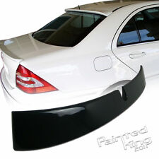 01 06 07 Mercedes BENZ W203 L Style Roof Spoiler Painted 197