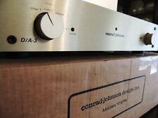 CONRAD JOHNSON D / A-3 DAC DIGITAL TO ANALOG CONVERTER VERY UNCOMMON RARE