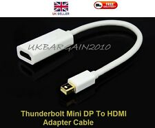 Thunderbolt Mini Display Port DP TO HDMI Adapter Cable for iMAC Macbook Air Pro