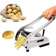 French Fry Potato Chip Cutter Vegetable Slicer Maker Chopper Blade Cooking Tool