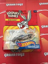 Bugs Bunny 1/6 Hot Wheels Looney Tunes Character Cars Case C