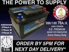 ALFA ROMEO 147 155 156 159 164 166 CAR BATTERY 096 100 12V EXTRA HEAVY DUTY O.E.