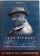 DVD MAIGRET - LA NUIT DU CARREFOUR - Jean RICHARD - EPISODE 9