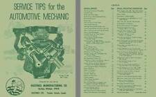 Hastings Manufacturing c1970 - Service Tips for the Automotive Mechanic
