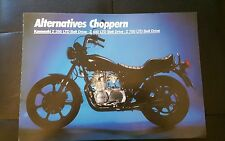 Prospekt Sales Brochure Kawasaki Z 250 LTD Choppern Bike Moped   автомобиль