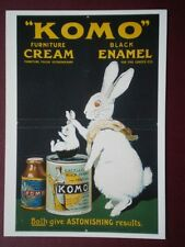 POSTCARD  KOMO FURNITURE CREAM