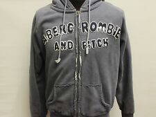 Abercrombie and Fitch Strickjacke L Blau