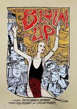 BLOW-UP VERUSHKA MOVIE POSTER LIMITED EDITION SCREEN PRINT BY MALLEUS