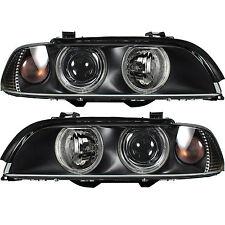 Halogen Scheinwerfer Set BMW Typ 5 / E39 09.00-06.03 H7/H7 mit Motor