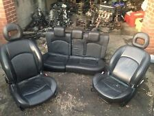 1999 - 2006 Peugeot 206 GTI leather seats 3 DOOR BLACK