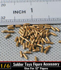 1:6 Soldier Story 5pcs MP40 Copper Bullets for Parabellum 9mm for Figure Toys