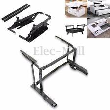Black Coffee Table Lift top Hardware Fitting Furniture Mechanism Hinge w/ Screws