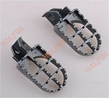 New WIDE Footpeg foot peg for SUZUKI DR250/350 90-95 DR350E 90-98 DR650 96-97