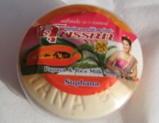 PAPAYA & RICE MILK SKIN LIGHTENING SOAP  1 x 170g *Suphana*  by ASANTEE