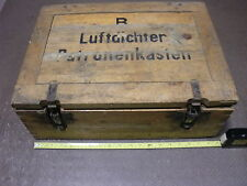 German WW2 Airtight Ammo Case - Luftdichter Patronenkasten s.m.k. 8mm Tracer