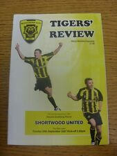 30/09/2007 Gloucester City v Shortwood United [FA Cup] .  Thanks for viewing our