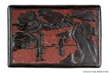 China 19. Jh. Lackdose -A Chinese Two Tone Cinnabar Lacquer Box - Chinois Cinese