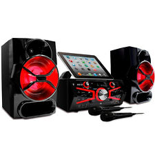 NEW Akai Ks5500bt Karaoke Mini System 150 Watts Cd&g